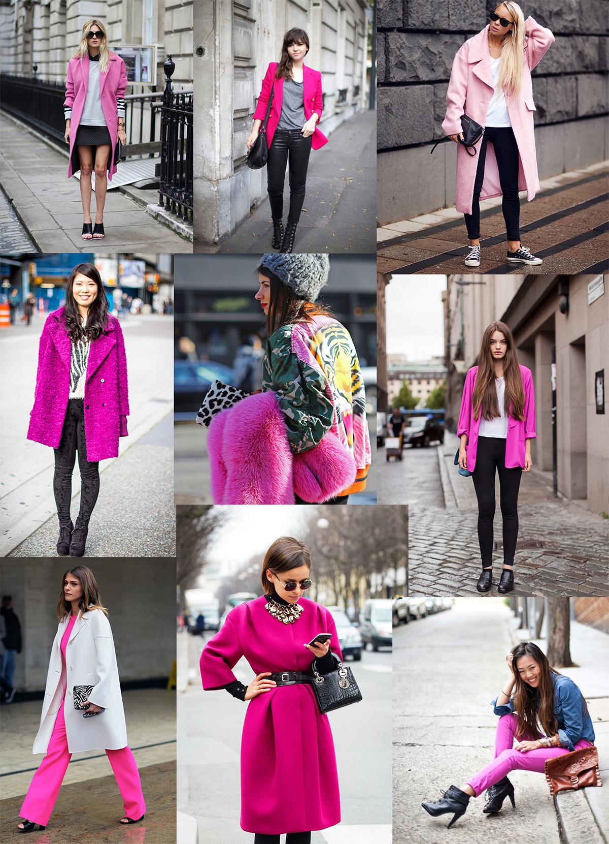 glam style - pink