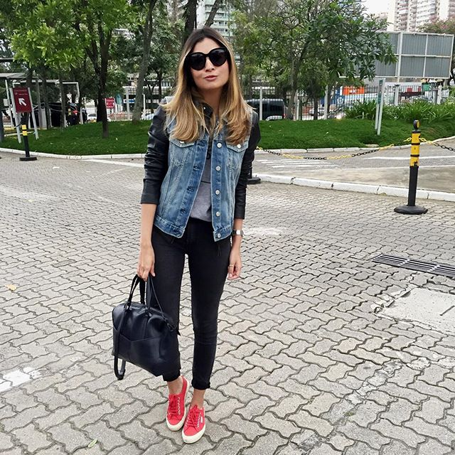 Jessica Velasco - glamstyle  - look superga(1)