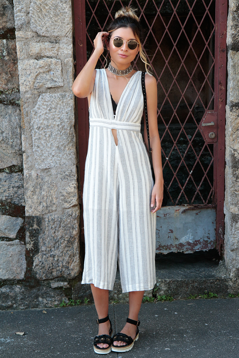 look_do_dia_macacao_pantacourt_dress_to_choker_glam_style_jessica_velasco